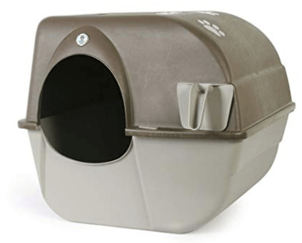 Omega Paw self-cleaning litter box