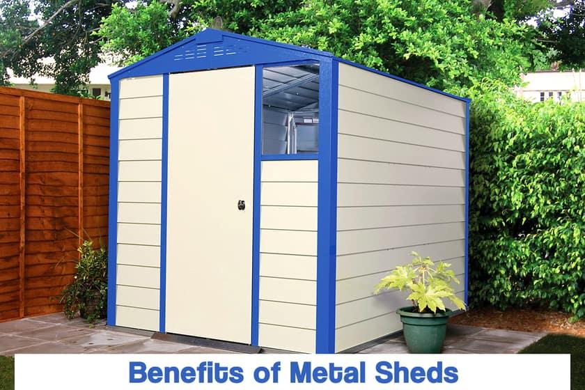 Benefits of Having Metal Sheds in Your Garden | Metal Sheds Foundation & Installation